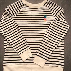 Striped Pineapple Sweatshirt